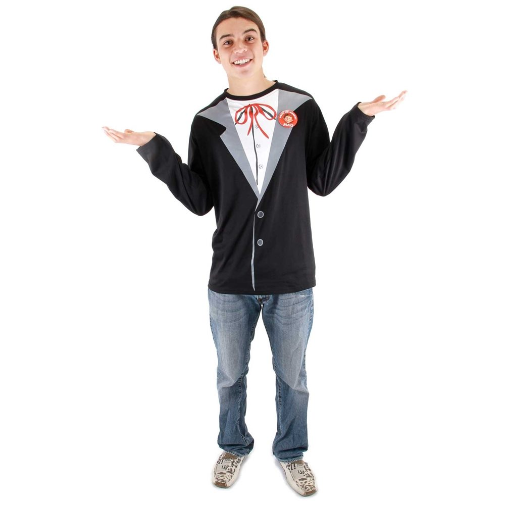 Picture of Alfred E. Newman Adult Mens Costume
