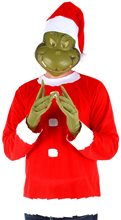 Picture of Dr. Seuss Grinch Adult Mens Costume