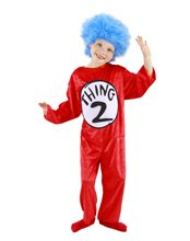 Picture of Dr. Seuss Thing 1 & 2 Child Costume
