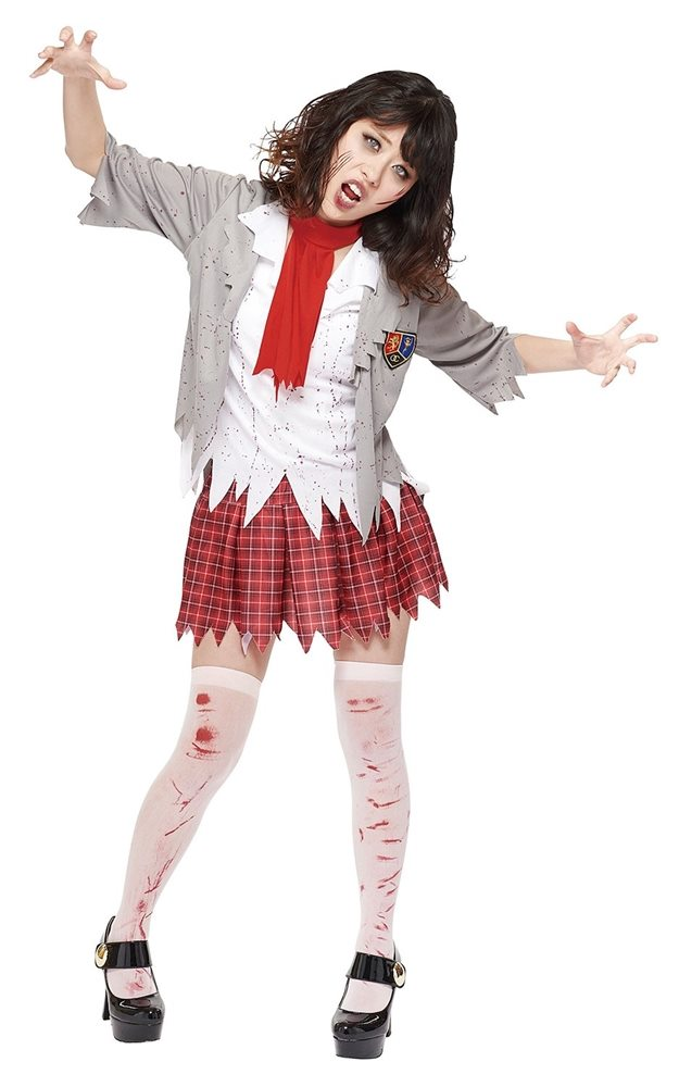 Picture of Zombie School Girl Adult Womens Costume
