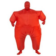 Picture of Red Inflatable Jumpsuit Adult Unisex Costume