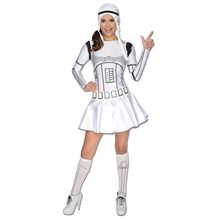 Picture of Star Wars Stormtrooper Sexy Adult Womens Costume