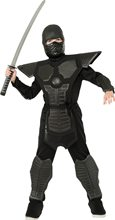 Picture of Black EVA Ninja Child Costume