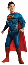 Picture of Superman Man of Steel Deluxe Muscle Child Costume