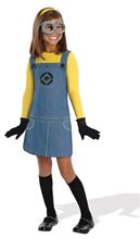 Picture of Despicable Me Minion Child Girl Costume