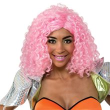 Picture of Nicki Minaj Pink Curly Wig