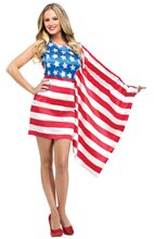 Picture of American Beauty Flag Adult Womens Costume