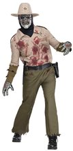 Picture of Zombie Sheriff Adult Mens Costume