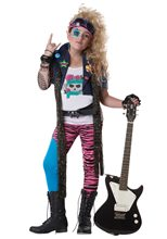 Picture of 80's Glam Rocker Child Costume