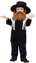 Picture of Jewish Rabbi Toddler Costume