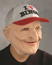 Picture of B-9 Bingo Old Man Mask
