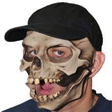 Picture of Skull Cap Moving Mouth Mask