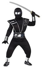 Picture of Silver Mirror Ninja Child Costume