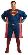 Picture of Superman Man of Steel Deluxe Adult Mens Plus Size Costume