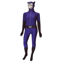 Picture of Catwoman Zentai Bodysuit Adult Womens Costume