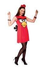Picture of Angry Birds Sassy Red Bird Adult Costume
