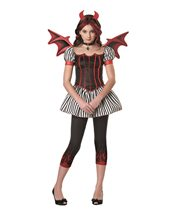 Picture of Strangeling Devil Tween Costume