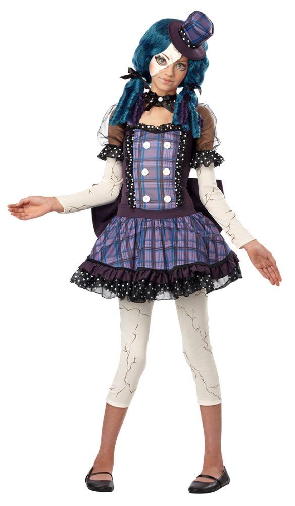 Picture of Broken Rag Doll Tween Costume