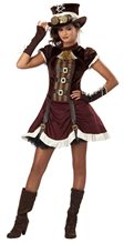 Picture of Steampunk Girl Tween Costume