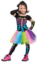 Picture of Funky Punk Bones Skeleton Toddler Costume