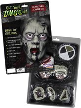 Picture of Graveyard Zombie Makeup Kit