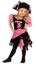 Picture of Pink Punk Pirate Toddler Costume