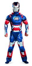 Picture of Marvels Iron Man Patriot Classic Muscle Child Costume
