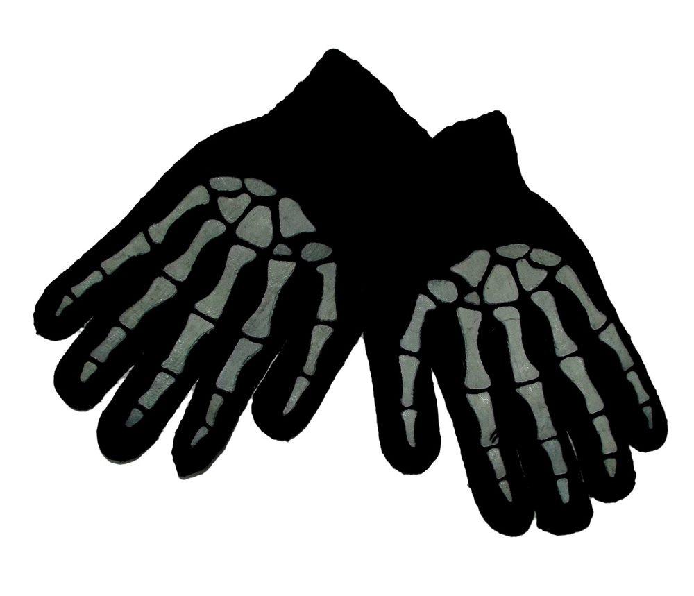 Picture of Black Bones Hand Gloves