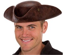 Picture of Faux Leather Pirate Hat