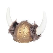 Picture of Deluxe Viking Helmet with Fur