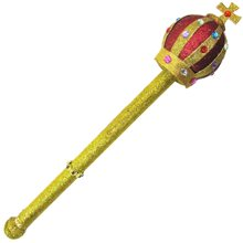 Picture of Gold Glitter Jeweled Royal Scepter