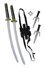 Picture of Ninja Double Sword Set