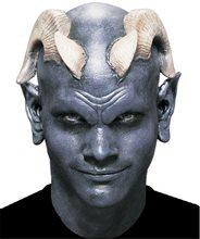 Picture of Black Latex Bald Cap