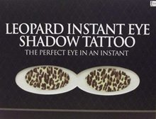 Picture of Leopard Instant Eye Shadow Tattoo