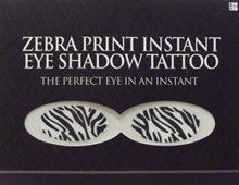 Picture of Zebra Print Instant Eye Shadow Tattoo