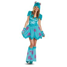 Picture of Monsters University Sassy Sulley Adult Women Costume