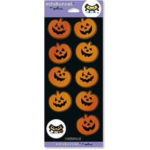 Picture of Halloween Foil Pumpkins Sticker Sheets