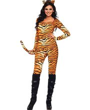 Picture of Wild Tigress Adult Womens Costume
