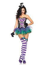 Picture of Tempting Mad Hatter Adult Womens Costume