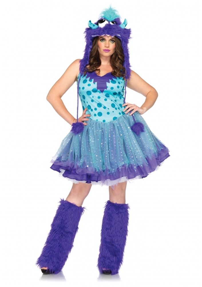 Picture of Polka Dotty Plus Size Adult Womens Costume
