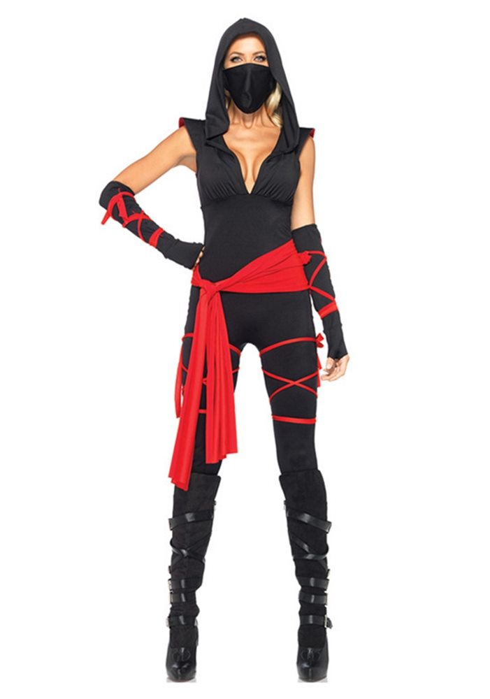 Picture of Deadly Ninja Adult Womens Costume