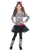 Picture of Little Zebra Girls Costume