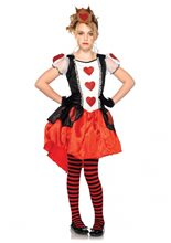 Picture of Wonderland Queen Girls Costume
