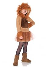 Picture of Cuddly Lion Child Costume