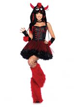 Picture of Rebel Monster Adult Womens Costume