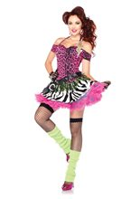 Picture of Totally 80s Amy Adult Womens Costume