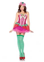 Picture of Strawberry Sweetie Adult Womens Costume