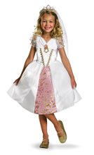 Picture of Tangled Rapunzel Wedding Gown Toddler & Child Deluxe Costume