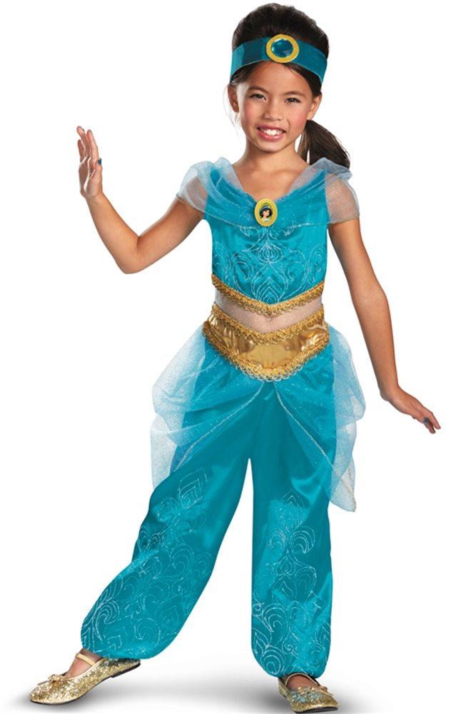 Picture of Jasmine Sparkle Deluxe Child Costume