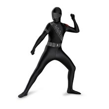 Picture of G.I. Joe Snake Eyes Bodysuit Child Costume